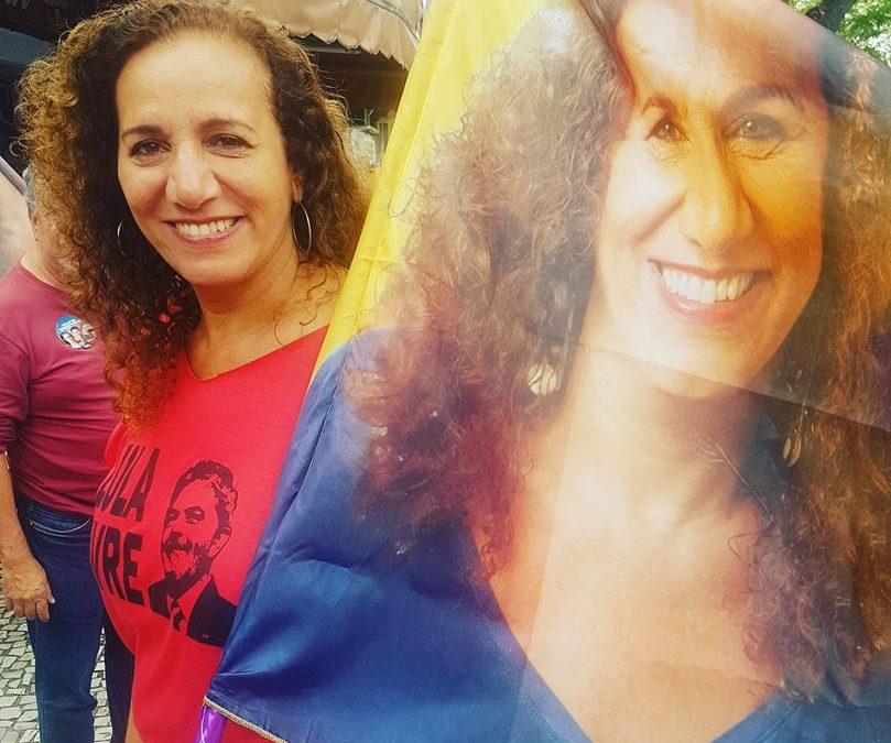 A mais votada da chapa, Jandira é reeleita deputada federal no RJ