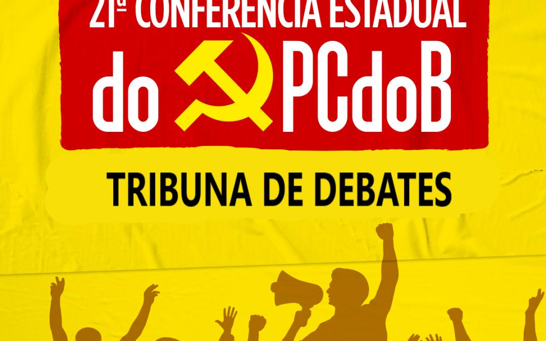 Lançada a Tribuna de Debates da 21ª Conferência do PCdoB-RJ