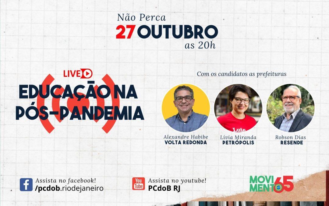 PCdoB-RJ realizará uma série de lives com suas candidatas e candidatos