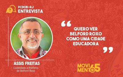 """Assis Freitas: """"Temos como meta investir muito na Educação"""""""
